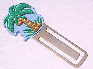 【在庫処分セール】ハワイアンしおり/椰子の木