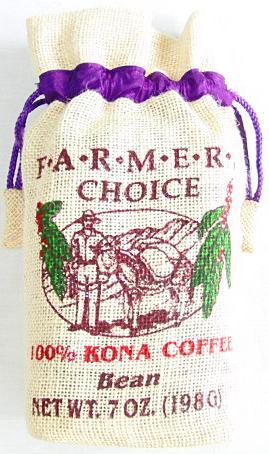 FARMERS CHOICE 100%コナコーヒー/豆タイプWB(198g)