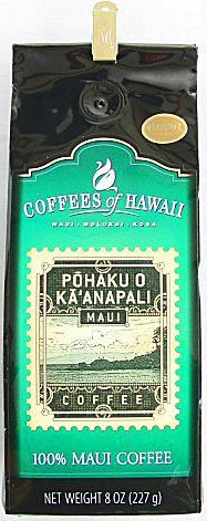 COFFEES of HAWAII・100%MAUI/ 100%マウイコーヒー