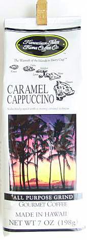 ハワイアンアイルズ/キャラメルカプチーノ7oz/粉タイプAD(198g)