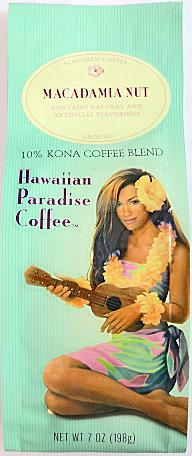ハワイアンパラダイス・コナコーヒー/マカダミアナッツ7oz(198g)