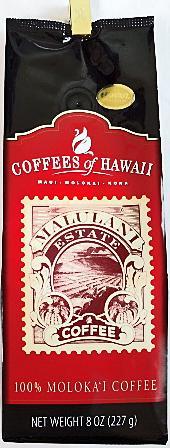COFFEES of HAWAII・100%MOLOKA'I/ 100%モロカイコーヒー