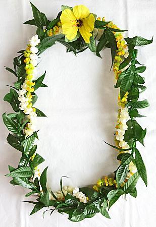 【ハワイアン雑貨・最安値を目指します】ハワイアンレイ/ピカケ・マイレ Pikake Maile