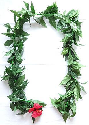 【ハワイアン雑貨・最安値を目指します】ハワイアンレイ/マイレ Maile