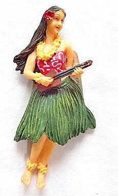 【ハワイアン雑貨・最安値を目指します】ハワイアンマグネット/ウクレレフラ