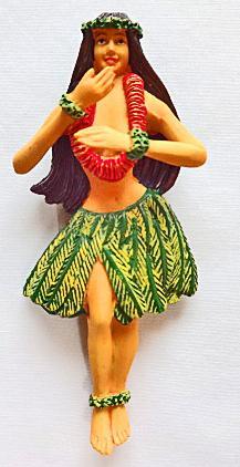【ハワイアン雑貨・最安値を目指します】ハワイアンマグネット/フラレイ