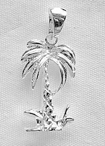 【ハワイアンジュエリー・最安値を目指します】ハワイアンジュエリー・ペンダントトップ/パームツリーPEP1183