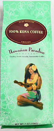 Hawaiian Paradise100%コナコーヒー・粉タイプAD 7oz(198g)