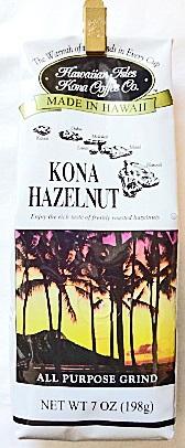 ハワイアンアイルズ/コナヘーゼルナッツ・粉タイプAD7oz(198g)