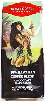 ハワイコーヒーカンパニー/ チョコマカダミア7oz(198g)10%Hawaiian coffee blend