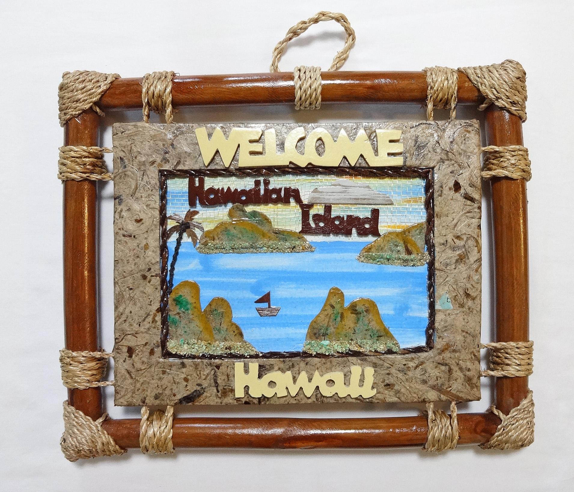 【訳ありSALE品!!】ハワイアン看板/壁掛け/ハワイアンアイランド