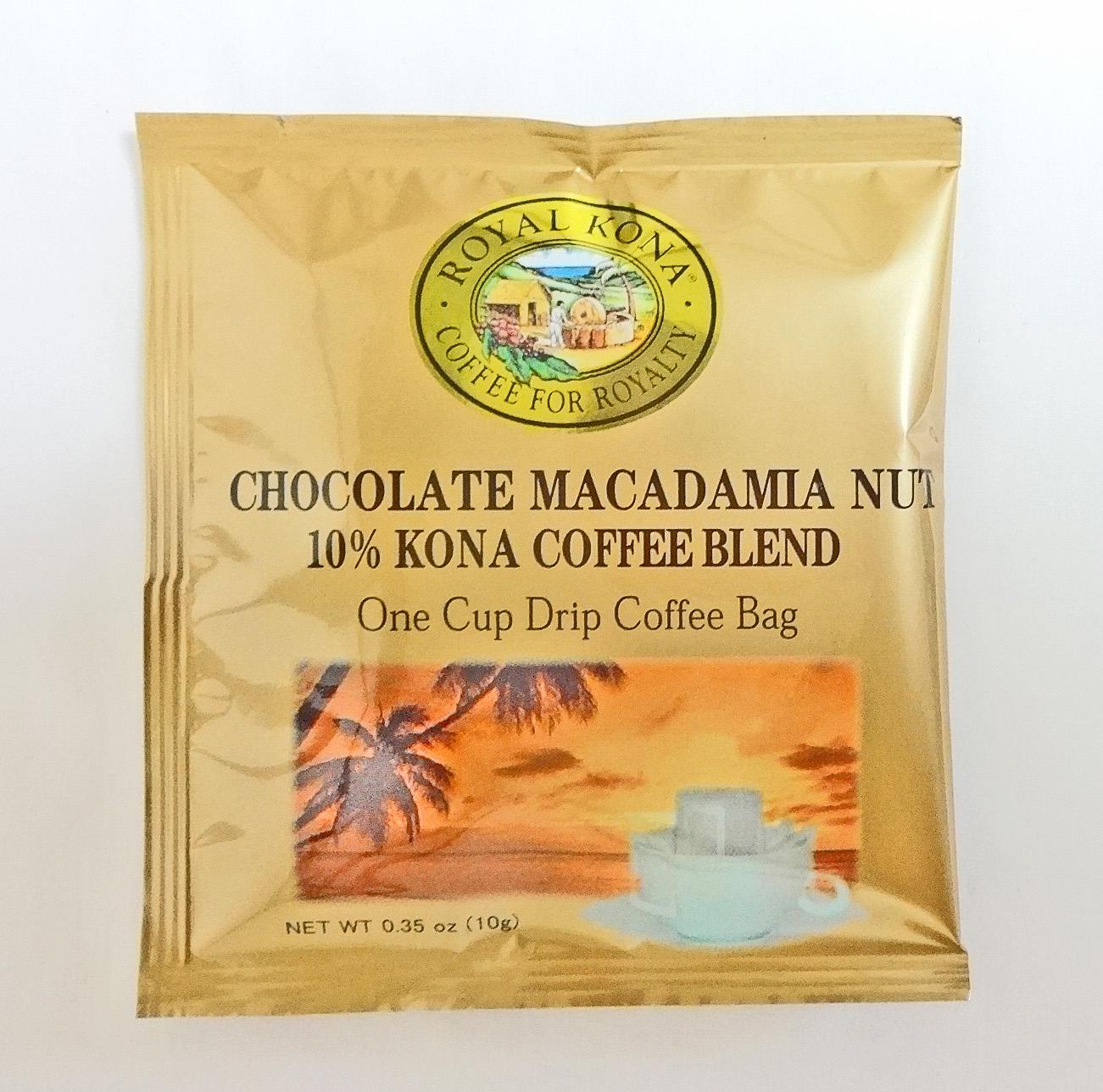 ロイヤルコナコーヒー/チョコマカダミア/ドリップコーヒーバッグ(10g)