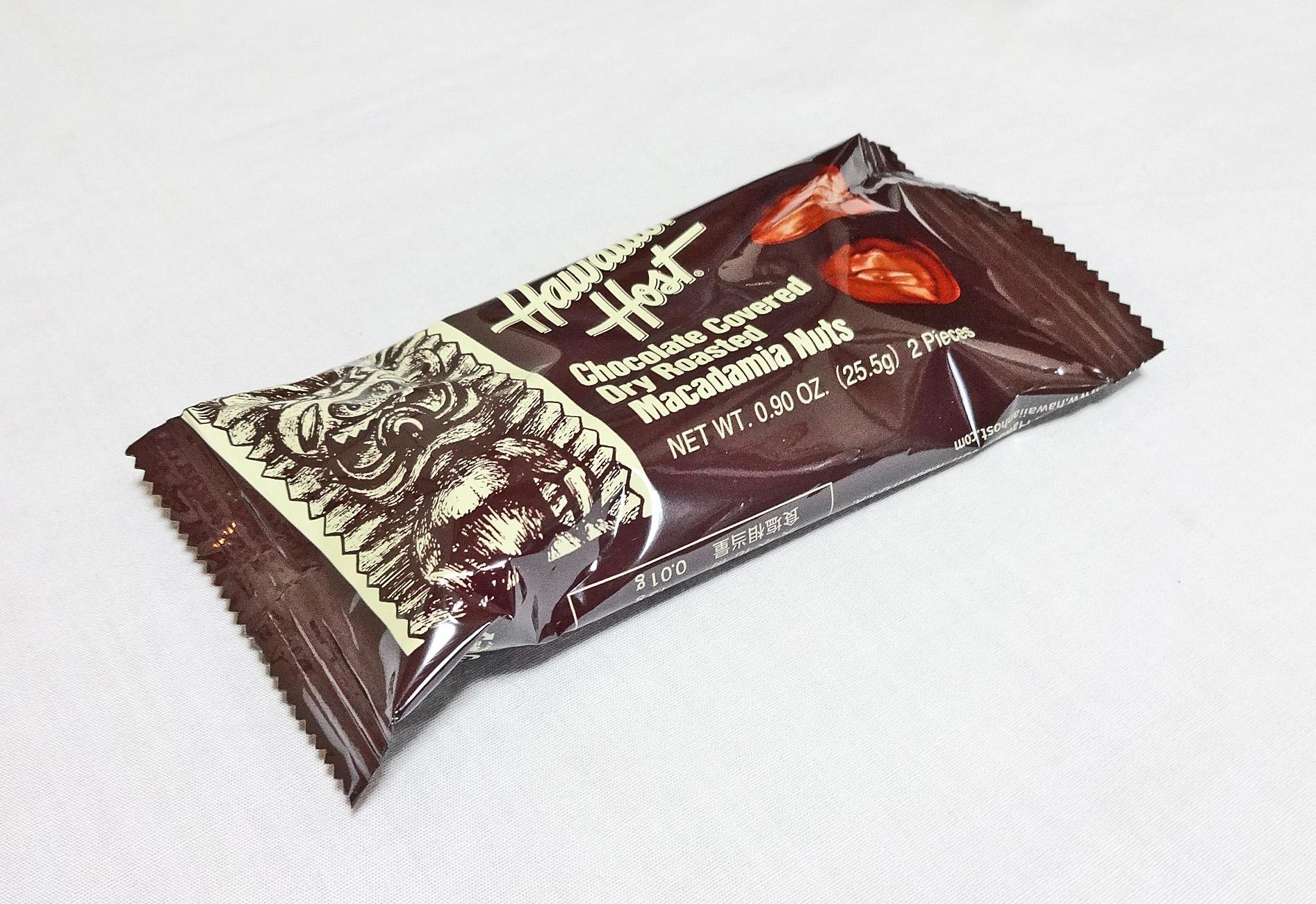 ハワイアンホースト・マカダミアナッツチョコレートTIKIバー/(2粒入り)