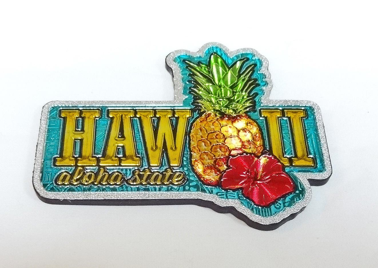 ハワイアンマグネット/ハワイアンパイナップル
