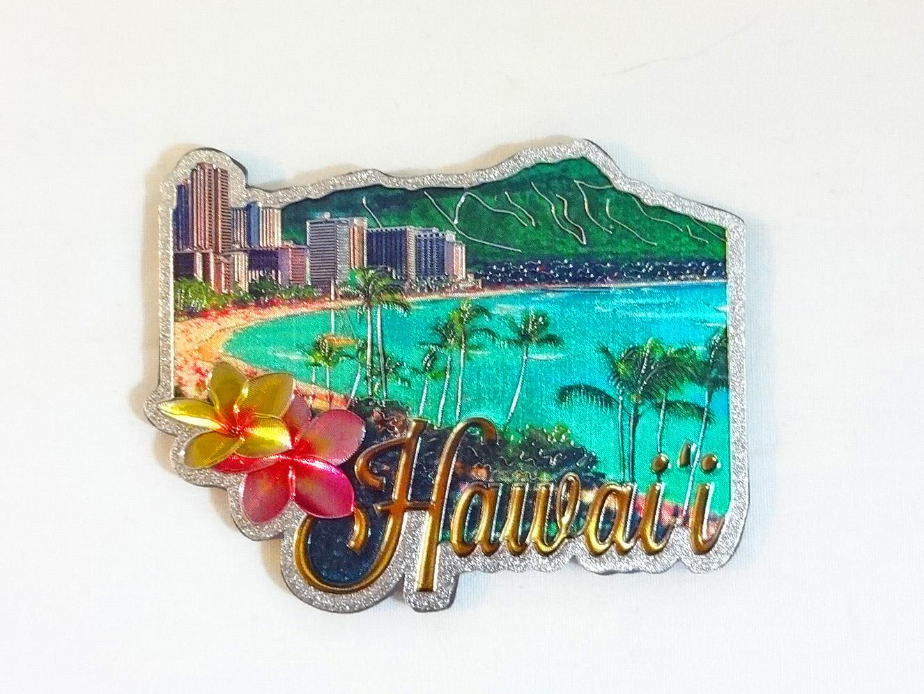 ハワイアンマグネット/ダイヤモンドヘッド