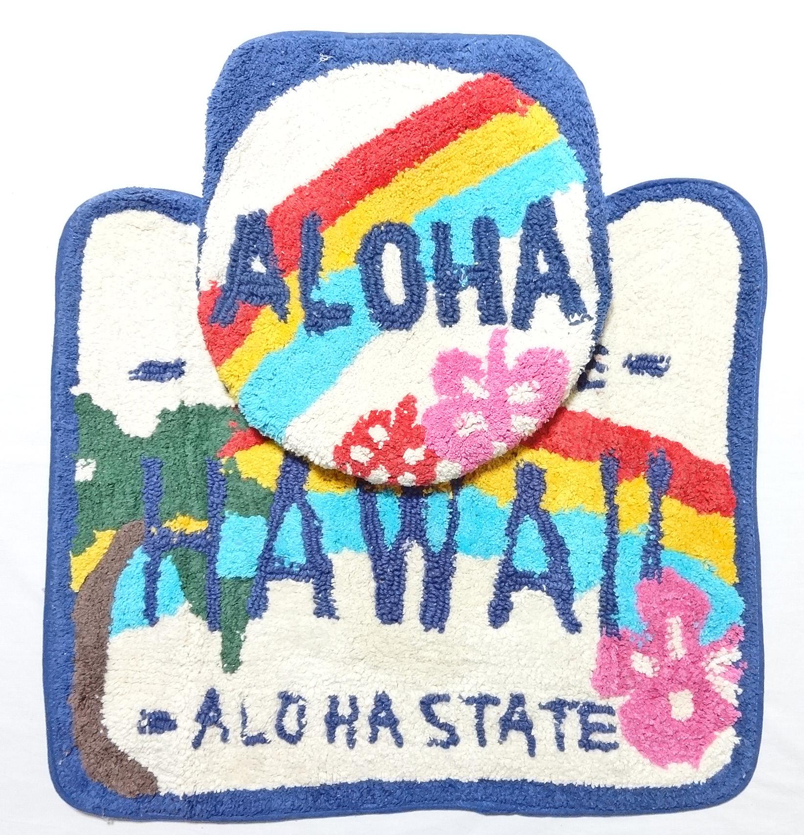 ハワイアン・トイレセット/ライセンスプレート