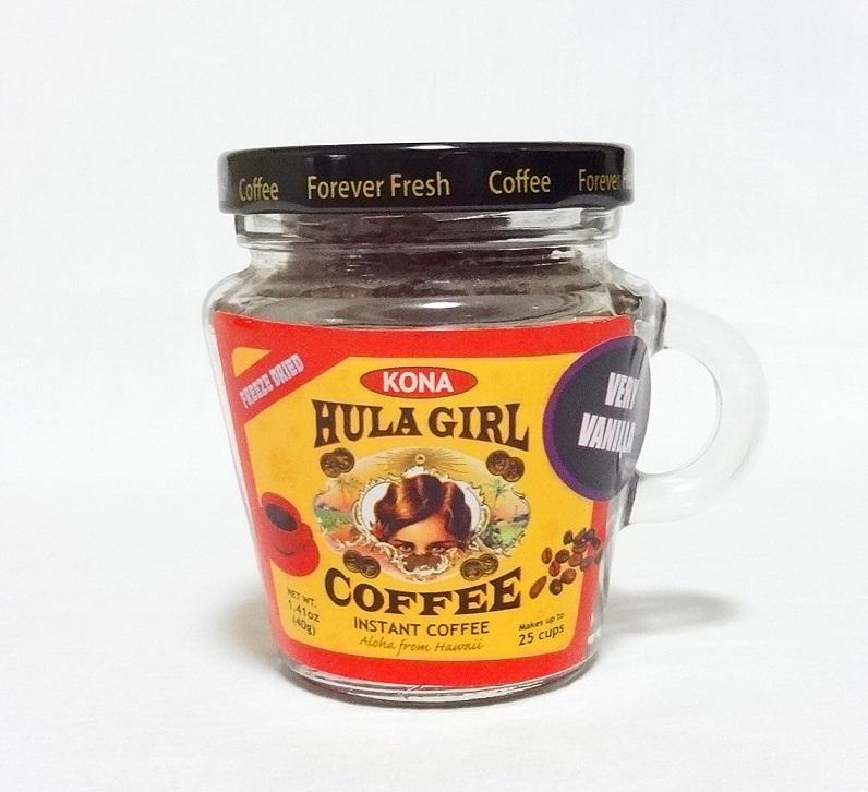 【期間限定SALE品】フラガール/10%コナインスタントコーヒー/ベリーバニラ/瓶タイプ(40g)
