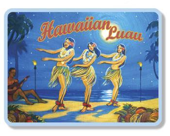 ハワイアンマグネット/Hawaiian Luau