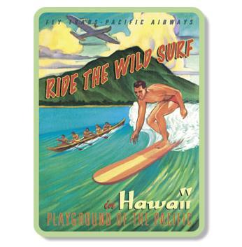 ハワイアンマグネット/SURFER