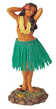ハワイアンフラガール人形/ポージングG
