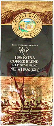 ロイヤルコナコーヒー・ロイズ/パシフィックロースト/粉タイプAD8oz(227g)