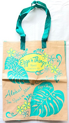 【ハワイ限定・Eggs'n Things】エッグスンシングス・エコバッグ