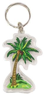 【訳あり・最終価格】ハワイアン・キーホルダー/椰子の木
