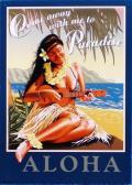 【円高還元SALE】ハワイアン看板/ALOHA2