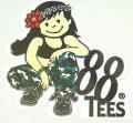 88tees ステッカー/YAYAちゃん01