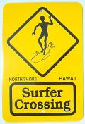 【ハワイアン雑貨・最安値を目指します】ハワイアン看板/SURFER01