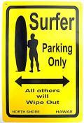 ハワイアン看板/SURFER03