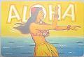 ハワイアン・ヴィンテージポストカード/フラガール05