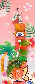 【売り尽くしセール】ハローキティ☆ハワイ限定ストラップ/ABC限定パイナップルキティ
