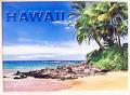 ハワイアンマグネット/パームツリーオーシャン