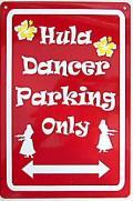 ハワイアン看板/Fula Dancer06