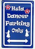 ハワイアン看板/Fula Dancer07