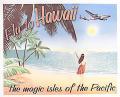 【円高還元SALE】ハワイアン看板/Fly to Hawaii