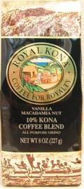 【増量版】ロイヤルコナコーヒー/バニラマカダミア・粉タイプAD8oz(227g)