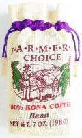 【賞味期限間近のため激安特価】FARMERS CHOICE 100%コナコーヒー/豆タイプWB(198g)