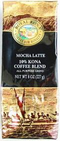 ロイヤルコナコーヒー/モカラテ/粉タイプAD8oz(227g)