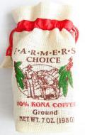 FARMERS CHOICE 100%コナコーヒー/粉タイプAD・7oz(198g)