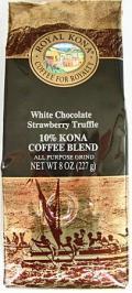 ロイヤルコナコーヒー/ホワイトチョコ ストロベリートリュフ・粉タイプ8oz(227g)