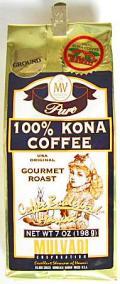 MULVADI 100% コナコーヒー・粉タイプAD 7oz(198g)