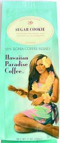 ハワイアンパラダイス・コナコーヒー/シュガークッキー/粉タイプAD7oz(198g)