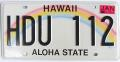 ハワイ・ナンバープレート/USED2