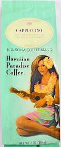 ハワイアンパラダイスコナコーヒー/カプチーノ・粉タイプAD7oz(198g)