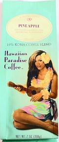 ハワイアンパラダイス・コナコーヒー/パイナップル7oz(198g)
