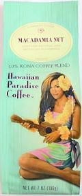 ハワイアンパラダイス・コナコーヒー/マカダミアナッツ/粉タイプAD7oz(198g)