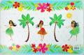 【ハワイアン雑貨・最安値を目指します】ハワイアンランチョンマット(フラガール)