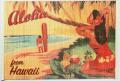 【ハワイアン雑貨・最安値を目指します】ハワイアン・バンブーランチョンマット/ハワイアンビーチ
